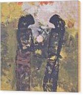 Shadows II By Bagong Kussudiardja Wood Print
