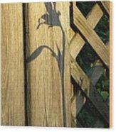 Shadows Of Life Wood Print