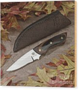 Shady Oak Knife-faa Wood Print