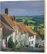Shaftesbury Wood Print