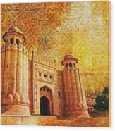 Shahi Qilla Or Royal Fort Wood Print