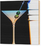 Shaken Not Stirred Wood Print by Bob Orsillo