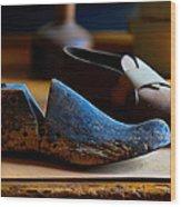 Shaker Shoe Last Wood Print