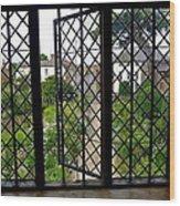 View Through Shakespeare's Window Wood Print