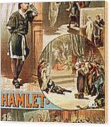 Shakespeare's Hamlet 1884 Wood Print