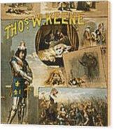 Shakespeare's Richard IIi 1884 Wood Print