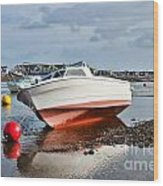 Shaldon-teignmouth Harbour Wood Print
