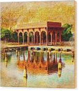 Shalimar Gardens Wood Print by Catf