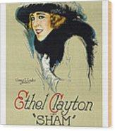 Sham Wood Print