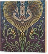 Shaman Wood Print