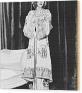 Shanghai, Loretta Young, 1935 Wood Print