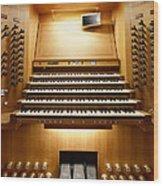 Shanghai Organ Console Wood Print