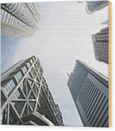 Shanghai Stock Exchange,china - East Wood Print
