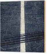 Shape No.35 Gray Scale Wood Print