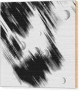Shape Of The Rain Wood Print