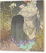 Shape Shifting Fox 1886 Wood Print