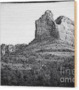 Shapes Of Oak Creek Canyon Wood Print