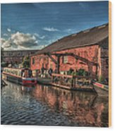 Shardlow Wharf Wood Print