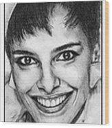 Shari Belafonte In 1985 Wood Print