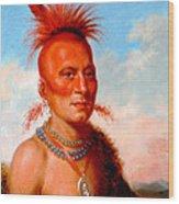 Sharitarish. Wicked Chief. Pawnee Wood Print