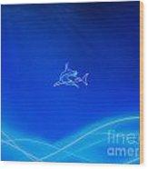 Shark 2 Wood Print