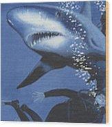 Sharkbait Wood Print