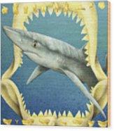 Sharks Truth... Wood Print