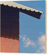 Sharp Edge Wood Print by Odd Jeppesen