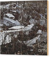 Shattered Field Wood Print