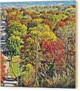 Shawnee Hill  Wood Print