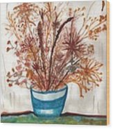 Shaylynne And Vaughn's Bouquet Wood Print