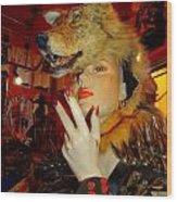 She Wolf Wood Print