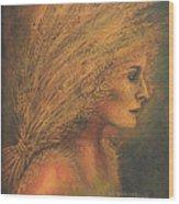 Sheaves Wood Print