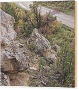 Sheep Creek Canyon Wyoming 6 Wood Print