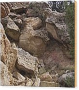 Sheep Creek Canyon Wyoming 8 Wood Print