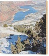 Sheep Creek  Wood Print
