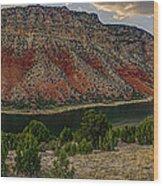Sheep Creek Utah Wood Print