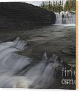 Sheep River Falls Alberta Canada 1 Wood Print