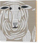 Sheeped Wood Print