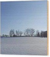 Sheet Of White Wood Print