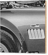 Shelby Cobra 427 Engine Wood Print