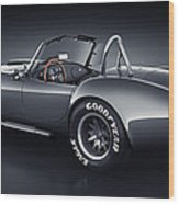Shelby Cobra 427 - Venom Wood Print