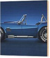 Shelby Cobra 427 - Water Snake Wood Print