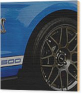Shelby Cobra Gt 500 / Ford Wood Print