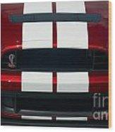 Shelby Cobra Hood Wood Print