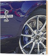 Shelby Gt 500 Super Snake Wood Print