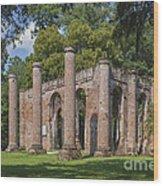 Sheldon Church 193 Wood Print