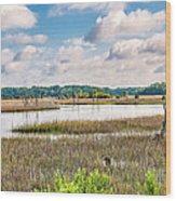 Sheldon Creek Bend Wood Print