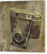 Shelf Camera Wood Print