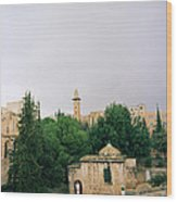 Historic Jerusalem Wood Print